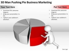 People Business Pie PowerPoint Templates Free Download Marketing