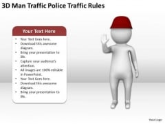 People In Business Man Traffic Police Rules PowerPoint Templates Ppt Backgrounds For Slides