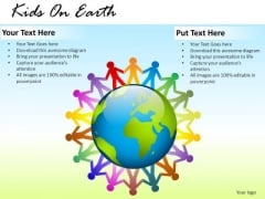 People Kids On Earth PowerPoint Slides And Ppt Diagram Templates
