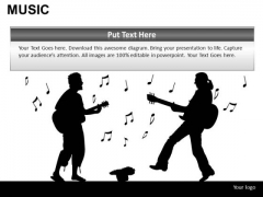 People Music PowerPoint Slides And Ppt Presentation Diagrams
