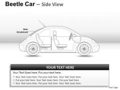 People Red Beetle Car PowerPoint Slides And Ppt Diagram Templates