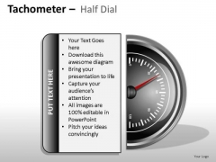 People Tachometer Half Dial PowerPoint Slides And Ppt Diagram Templates