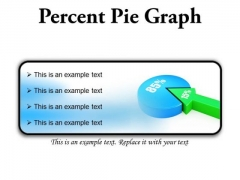 Percent Pie Graph Business PowerPoint Presentation Slides R