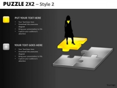 Perfect Woman For Job Puzzle PowerPoint Slide And Editable Ppt Templates
