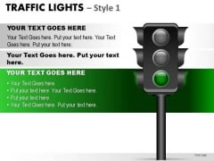 Permission Signs Traffic Light PowerPoint Slides And Ppt Diagram Templates