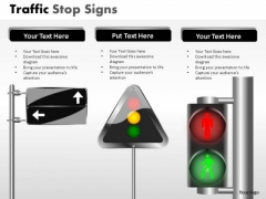 Person Light Traffic Stop PowerPoint Slides And Ppt Diagram Templates
