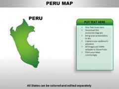 Peru PowerPoint Maps