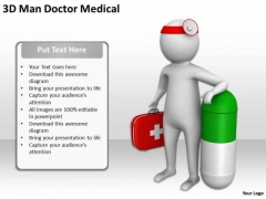 Pictures Of Business Men 3d Man Doctor Medical PowerPoint Slides