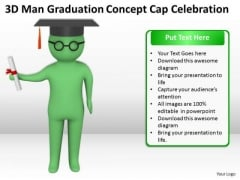 Pictures Of Business Men Concept Cap Celebration PowerPoint Templates Ppt Backgrounds For Slides