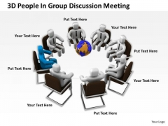 Pictures Of Business Men Group Discussion Meeting PowerPoint Templates Ppt Backgrounds For Slides