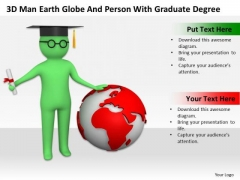 Pictures Of Business Men With Graduate Degree PowerPoint Templates Ppt Backgrounds For Slides