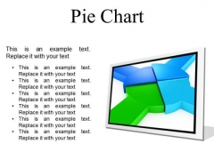 Pie Chart Business PowerPoint Presentation Slides F