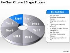 Pie Chart Circular 8 Stages Process Ppt Security Business Plan PowerPoint Templates