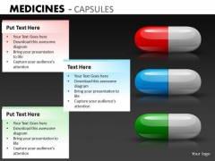 Pills For Sickness PowerPoint Templates Health PowerPoint Slides