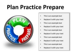 Plan Practice Business PowerPoint Presentation Slides C