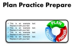 Plan Practice Business PowerPoint Presentation Slides R