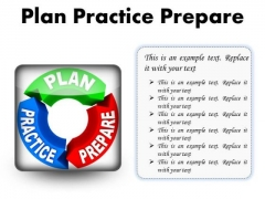 Plan Practice Business PowerPoint Presentation Slides S