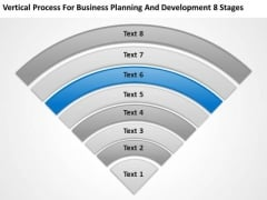 Planning And Development 8 Stages Business Company Description PowerPoint Templates