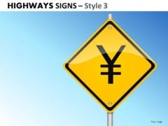 Planning Highways Signs 3 PowerPoint Slides And Ppt Diagram Templates