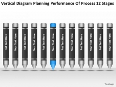 Planning Performance Of Process 12 Stages Ppt Business Template PowerPoint Templates