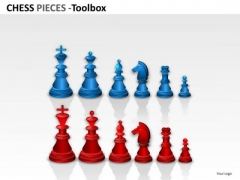 Play Chess Pieces PowerPoint Slides And Ppt Diagram Templates