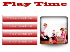 Play Time Game PowerPoint Presentation Slides S