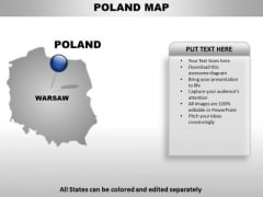 Poland Country PowerPoint Maps
