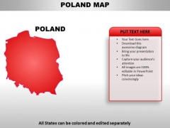 Poland PowerPoint Maps