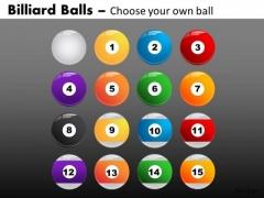Pool Balls PowerPoint Graphics