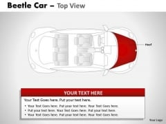 Portrait Red Beetle Car PowerPoint Slides And Ppt Diagram Templates