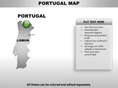 Portugal Country PowerPoint Maps