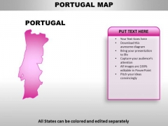 Portugal PowerPoint Maps