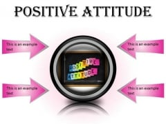 Positive Attitude Education PowerPoint Presentation Slides Cc