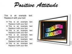 Positive Attitude Education PowerPoint Presentation Slides F