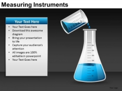 Pouring Liquid Into Flask Experiment PowerPoint Templates Ppt Slides