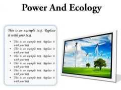 Power And Ecology Nature PowerPoint Presentation Slides F