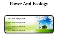 Power And Ecology Nature PowerPoint Presentation Slides R