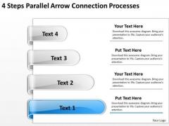 PowerPoint Arrow Shapes Connection Processes Templates Backgrounds For Slides
