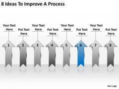 PowerPoint Arrows 8 Ideas To Improve Process Slides