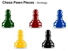 PowerPoint Background Business Strategy Chess Pawn Ppt Presentation