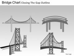 PowerPoint Backgrounds Bridges Chart Business Growth Ppt Theme