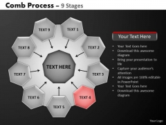 PowerPoint Backgrounds Business Hub And Spokes Process Ppt Design