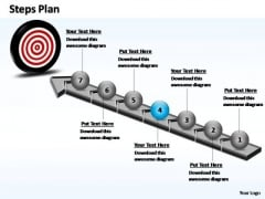 PowerPoint Backgrounds Business Steps Plan Ppt Themes