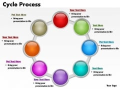 PowerPoint Backgrounds Chart Cycle Process Ppt Themes