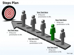 PowerPoint Backgrounds Chart Steps Plan 5 Stages Style 6 Ppt Design