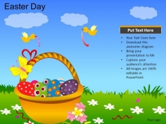 PowerPoint Backgrounds Church Easter Day Ppt Presentation