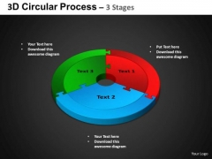 PowerPoint Backgrounds Circle Process Circular Process Ppt Layouts