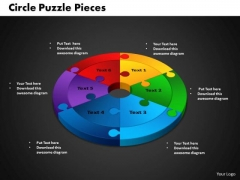 PowerPoint Backgrounds Circle Puzzle Diagram Ppt Presentation