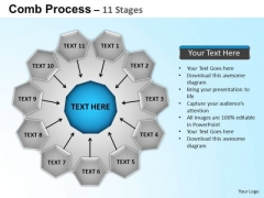 PowerPoint Backgrounds Circular Flow Diagram Ppt Backgrounds