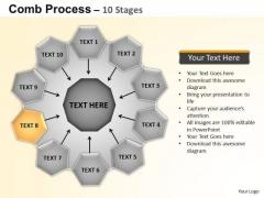 PowerPoint Backgrounds Circular Flow Diagram Ppt Design